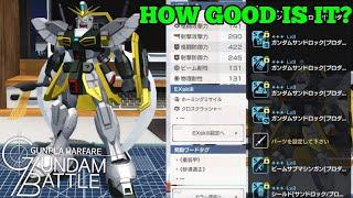 Gambar cover Gundam Sandrock Analysis | Gundam Battle: Gunpla Warfare