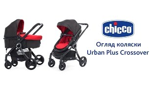 коляска-трансформер Chicco Urban Plus. Коляска Чико Урбан Плюс