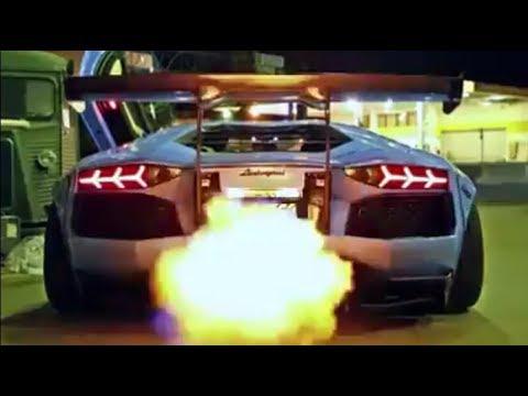 Lamborghini Aventador   Back Fires   Flames   Air Suspension