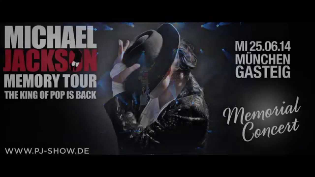 Michael Jackson Memory Tour  Memorial Concert  Munich  YouTube