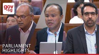 Minister Shanmugam, MP Faisal Manap & MP Pritam Singh Debate the Separation of Religion and Politics