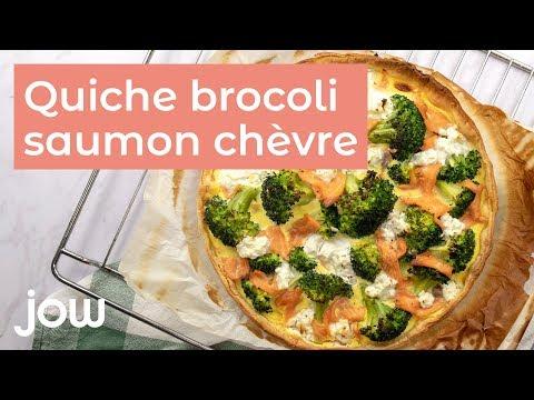 recette-de-la-quiche-brocoli,-chèvre-&-saumon