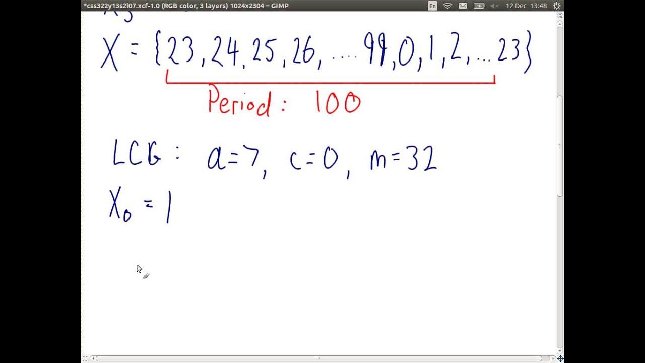 pseudo random numbers c