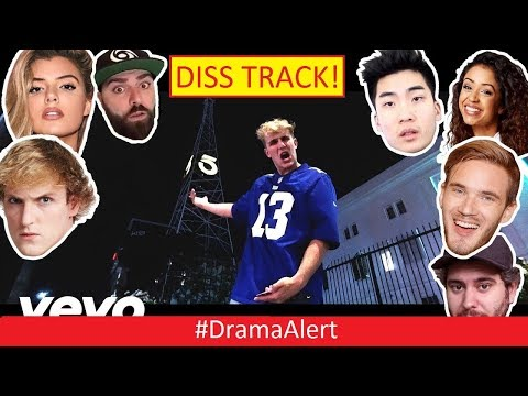 Jake Paul Diss Track! #DramaAlert Logan Paul EVICTED! Comedyshortsgamer vs Sidemen & Team 10!