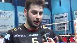 05-04-2015: Luciano De Cecco nel post Molfetta-Perugia 2-3