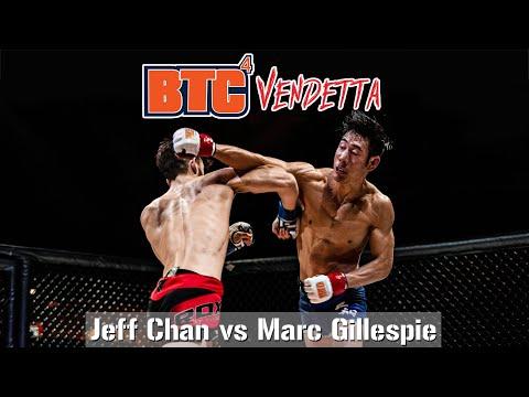 BTC 4: Vendetta - Match 1 - Jeff Chan vs Marc Gillespie