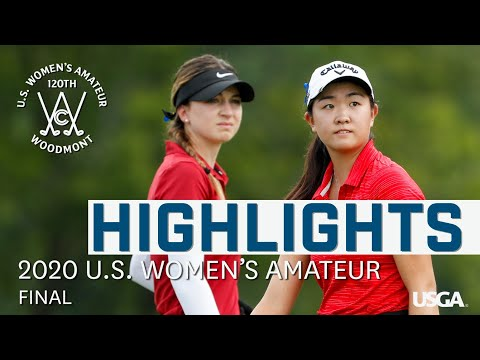 2020 U.S. Women's Amateur Final: Every Televised Shot