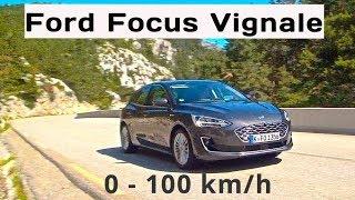 2019 Ford Focus Vignale (150hp) 8sp auto, 0  -100 km/h