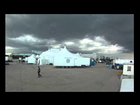 Storm Time-lapse - Cirque du Soleil Kooza