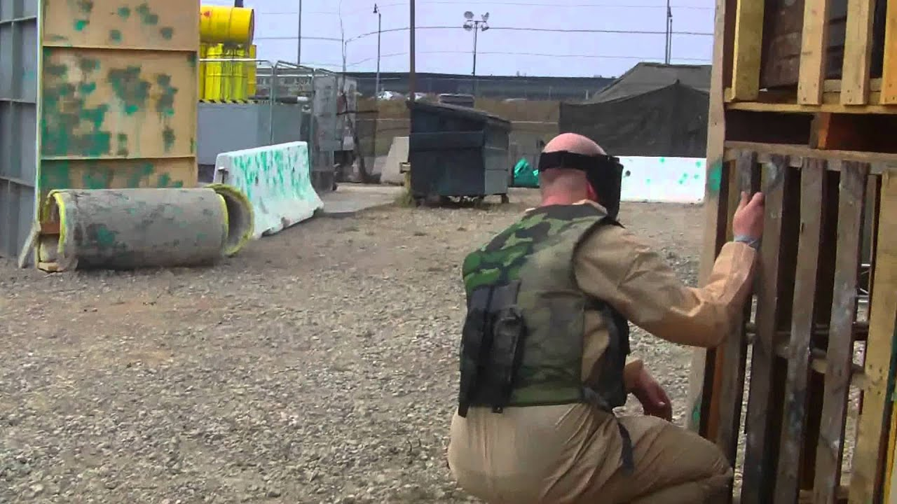 Paintball Arena Recreates Multiplayer Map From Call Of Duty Game