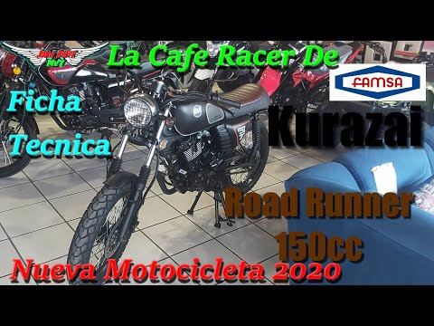 Nueva Motocicleta Kurazai