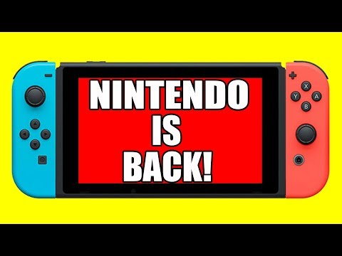 NINTENDO JUST ANNOUNCED AN AVALANCHE OF THIRD PARTY SUPPORT!