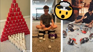 TikTok Crazy Ping Pong Ball Challenge 🤯 Videos Compilation | THE MOST NEW TIKTOK VIDEOS 😍