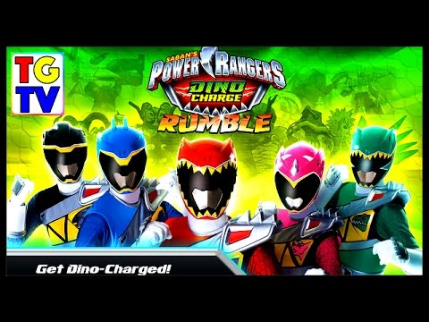 Power Rangers Dino Charge Rumble Game - YouTube