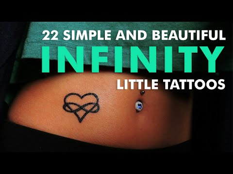 22 Simple And Beautiful Infinity Little Tattoos