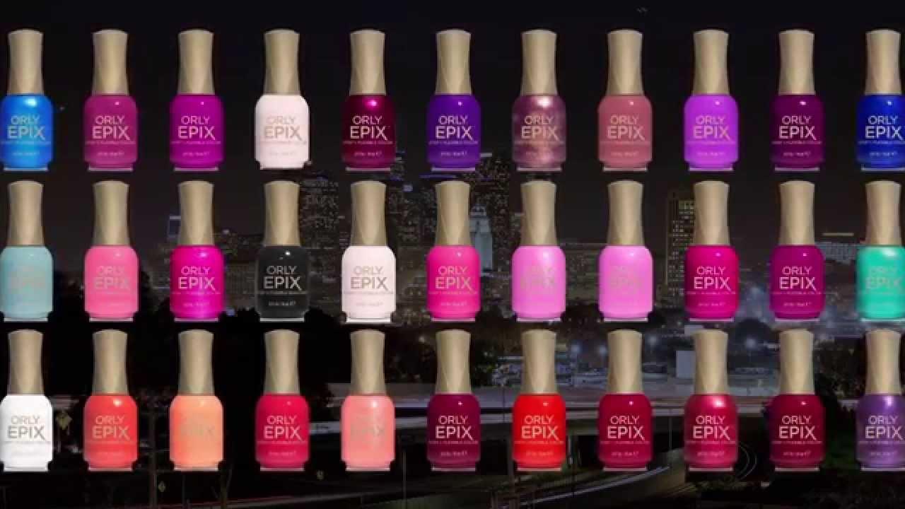 ORLY EPIX Flexible Color - la prossima generazione del colore per ...
