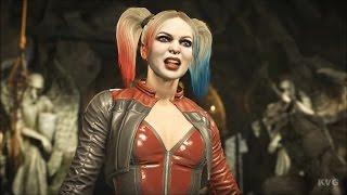 Injustice 2 - Harley Quinn - Gameplay (HD) [1080p60FPS]