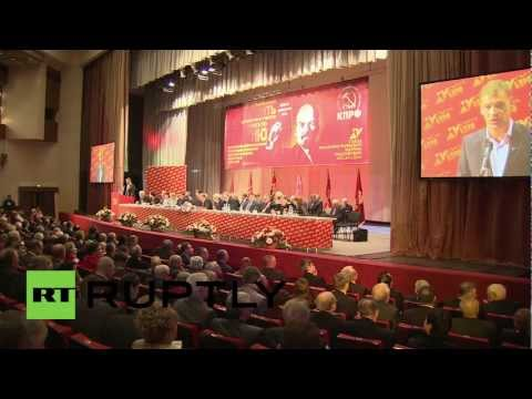 Russia: Russia's second largest political party celebrates 20 years