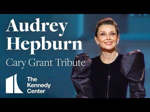Audrey Hepburn Cary Grant Tribute  1981 Kennedy Center Honors