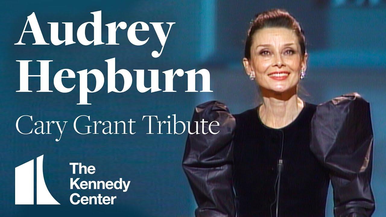 Audrey Hepburn (Cary Grant Tribute ...