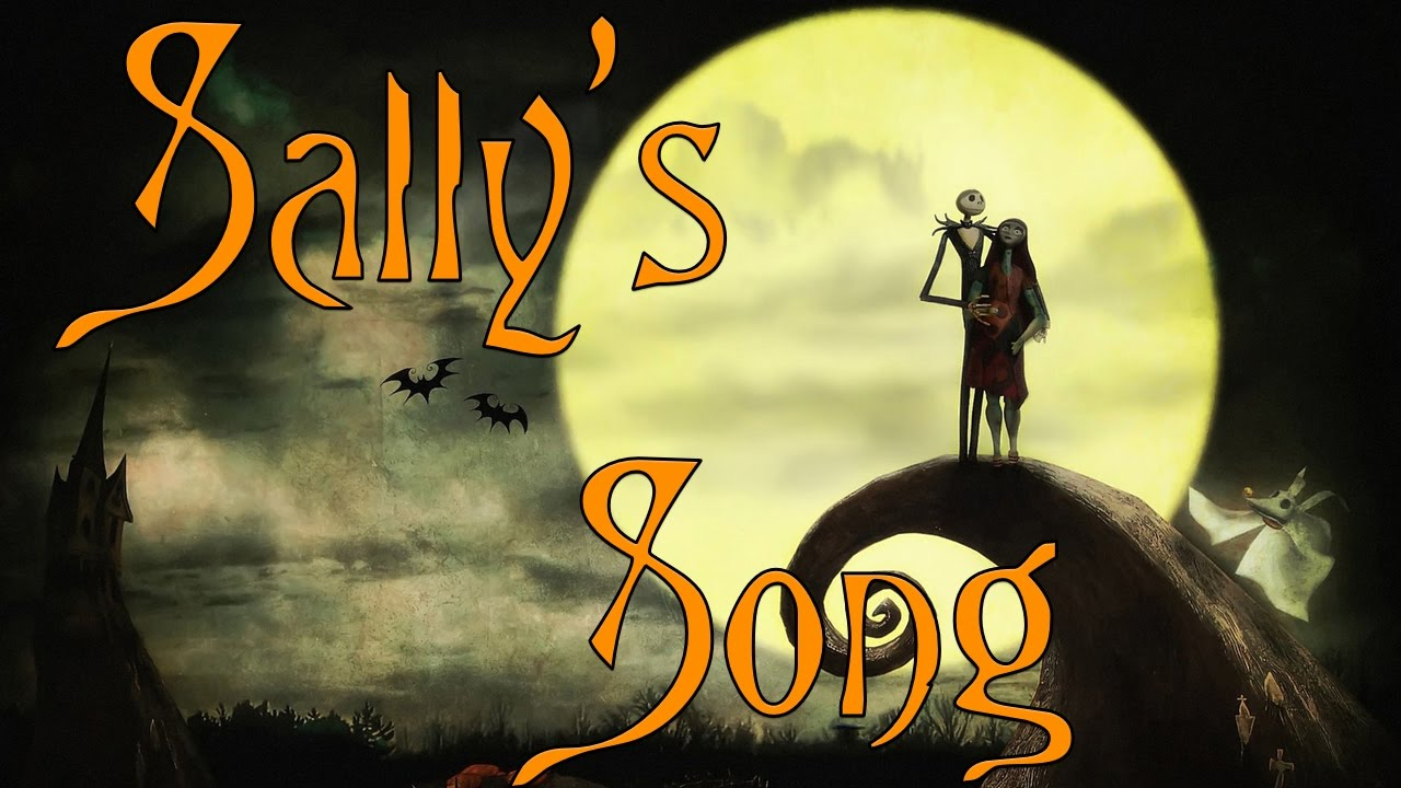 Nightmare Before Christmas Sally\'s Song Singing Cello Cover - YouTube