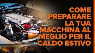 MERCEDES-BENZ E-CLASS (W211) video istruzioni gratuite: Come preparare la tua macchina al meglio per il caldo estivo I 7 consigli di AUTODOC
