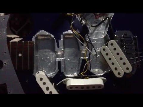 настройка электрогитары