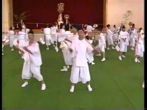 根府川寺山神社の鹿島踊(1989)2_2