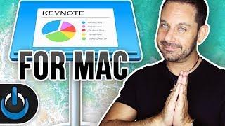 Keynote for Mac 2019