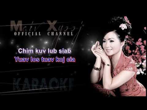 """Maiv Xyooj - """"Tsis Tau Koj Tiam No"""" with Lyrics (New Karaoke Version) thumbnail"""