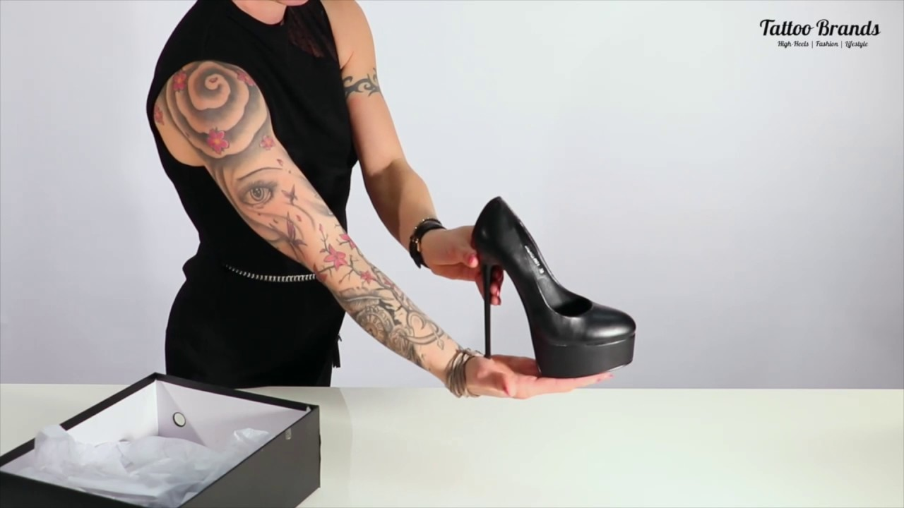 tattoobrands giaro galana 1001 high heels pumps youtube. Black Bedroom Furniture Sets. Home Design Ideas