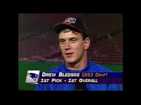 Drew Bledsoe 1993 postgame interview