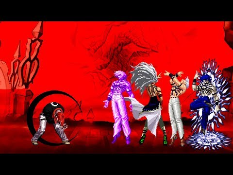 [KOF Mugen] Orochi iori XIII Vs Orochi Team