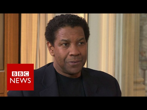 Denzel Washington on fake news and information overload - BBC News