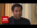 Denzel Washington on fake news and information overload - BBC News
