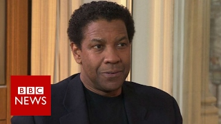 Denzel Washington on fake news and information overload   BBC News