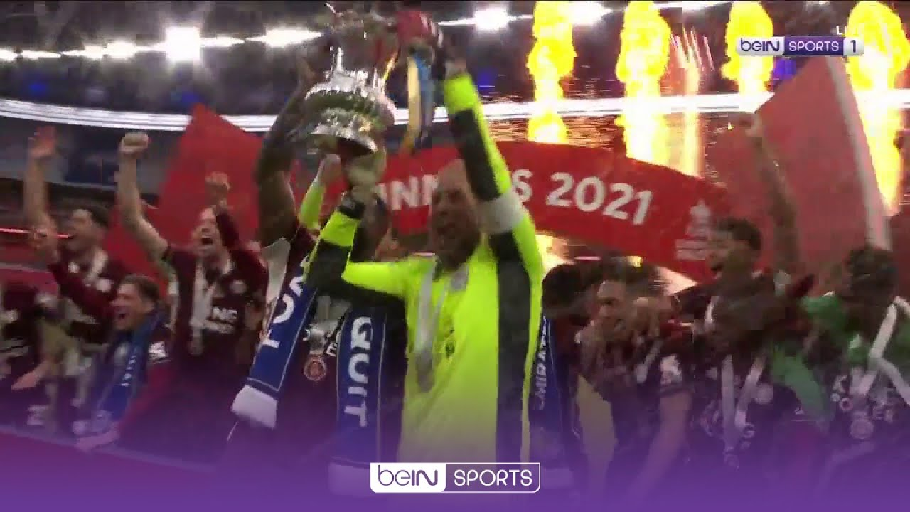 จุใจแฟนจิ้งจอก! พิธีชูถ้วยแชมป์ เอฟเอ คัพ สมัยแรกของ เลสเตอร์ ฉบับเต็ม | FA Cup 20/21 โมเมนต์