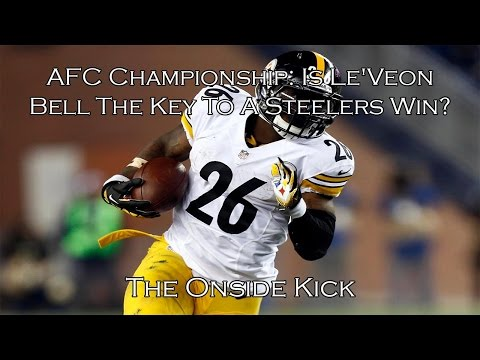 AFC Championship: Is Le'Veon Bell The Key To A Steelers Win?