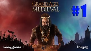 Grand Ages Medieval - COMO DOMINAR O MUNDO MEDIEVAL!!! (Gameplay/PC/PTBR)HD