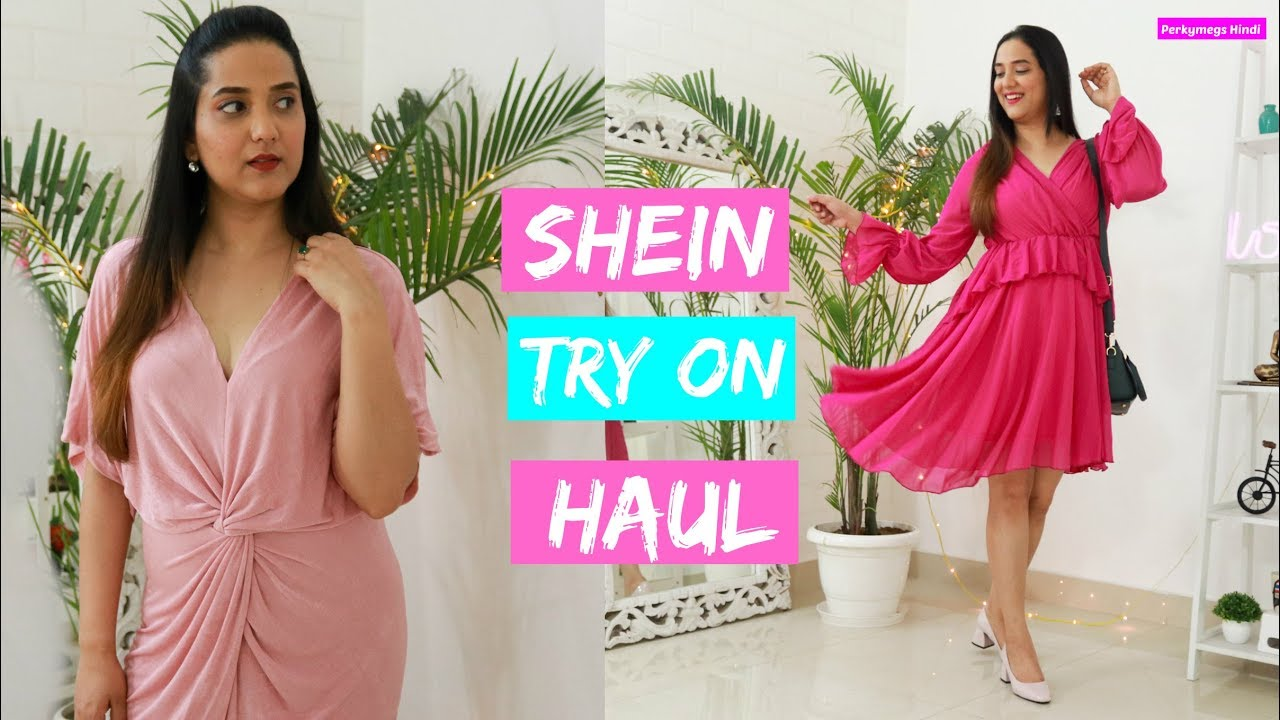 2a5c5946c7fa Huge Shein Try on Haul | Summer Dresses, tops, Jumpsuits, Night Dresses,  home decor & more