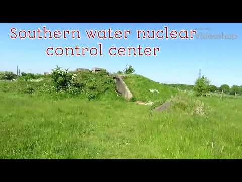 Abandoned Southern water nuclear control center