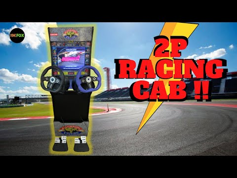 How To Make An Arcade1up 2 Player Racing Cab from 19kfox