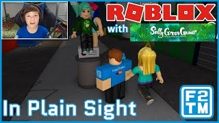 SallyGreenGamer and Fraser2TheMax play Roblox In Plain Sight (Epic Collab!!!)