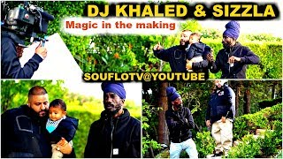 DJ KHALED and SIZZLA LINK UP TO CREATE GREATNESS