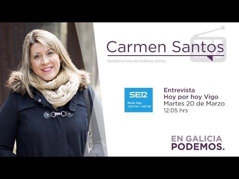 Entrevista Carmen Santos - Hoy por hoy Vigo 20.03.2019