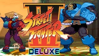 STREET FIGHTER III DELUXE - PC LONGPLAY - Shin Cyber-Akuma PLAYTHROUGH [NO DEATH] (FULL GAMEPLAY)