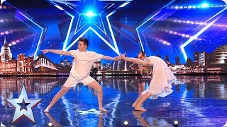 Dancers Abi & Harry charm the Judges! | Auditions | BGMT 2019