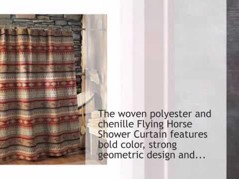 Flying Horse Shower Curtain - lonestarwesterndecor.com