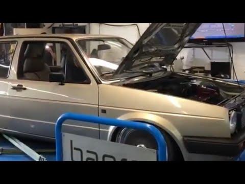 VW Golf MK2 VR6 Turbo Fwd Abstimmung / LC Start Turbo Gockel 01.08.2019