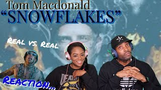 """FIRST TIME HEARING TOM MACDONALD """"SNOWFLAKES"""" REACTION 